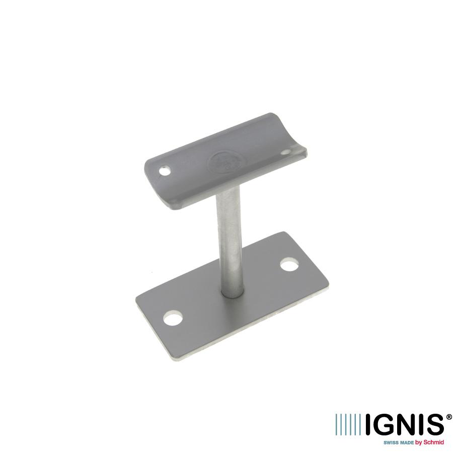 Support droit plaque rectangul  A2